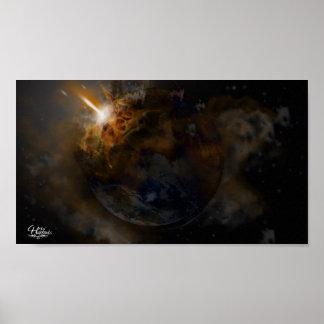 Planet's Distruction Poster