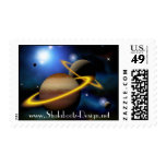 Planets Galaxy Stamps