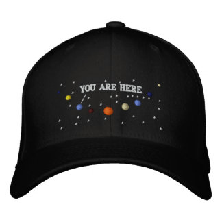 PLANETS - HAT EMBROIDERED BASEBALL CAP