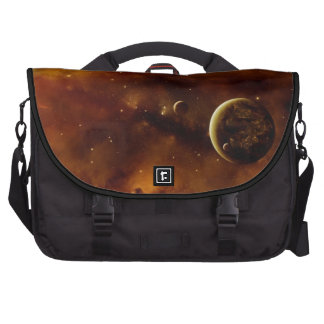 Planets in a nebula bag for laptop
