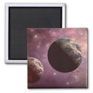 Planets in a Pink Universe Magnet