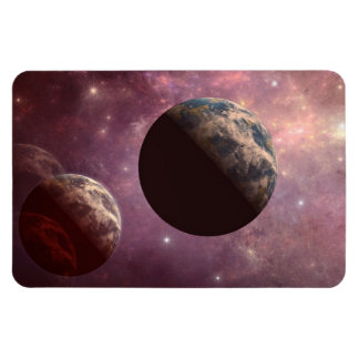 Planets in a Pink Universe Flexible Magnets