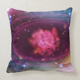 Planets in Formation Throw Pillow