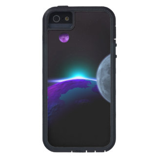Planets in Purple Case For iPhone SE/5/5s