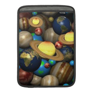 Planets In Space Sleeves For MacBook Air