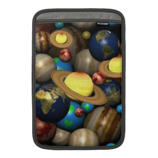 Planets In Space MacBook Sleeve