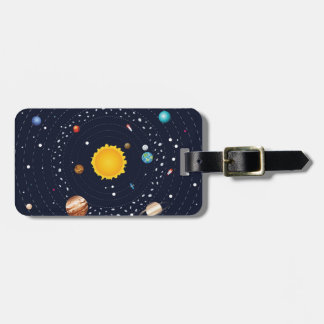 Planets of Solar System Bag Tag
