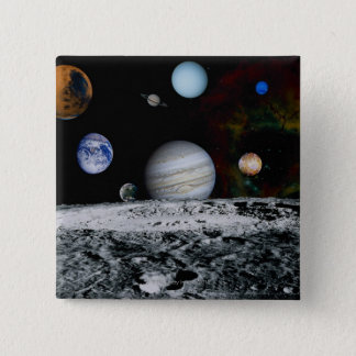 Planets of the Solar System Button