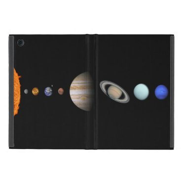 PLANETS OF THE SOLAR SYSTEM iPad Mini Case
