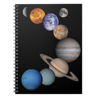 Planets of the solar system notebook