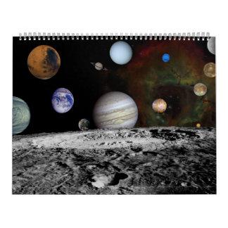 Planets & Planetary Space Calendar