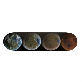 planets skate deck