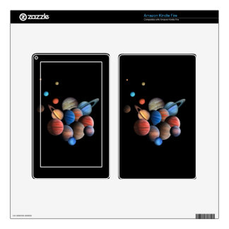 Planets Skin For Kindle Fire