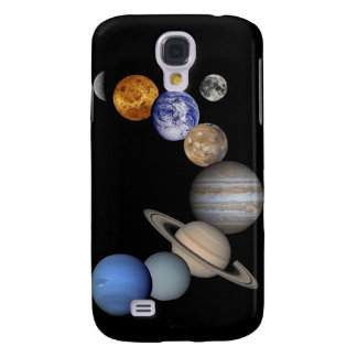 planets space  galaxy s4 cover