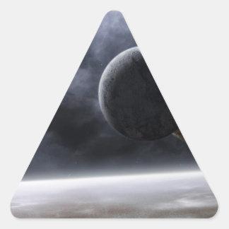 Planets Triangle Sticker