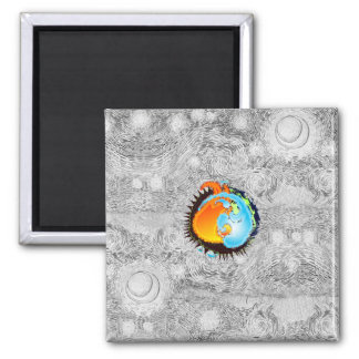 PlanetYY 2 Inch Square Magnet
