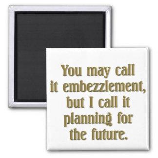 Planificación de la jubilación imán cuadrado