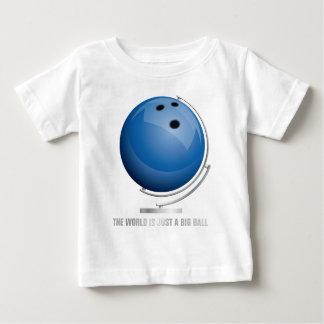 planificad bowling world globe t-shirts