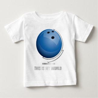 planificad bowling world globe tee shirts