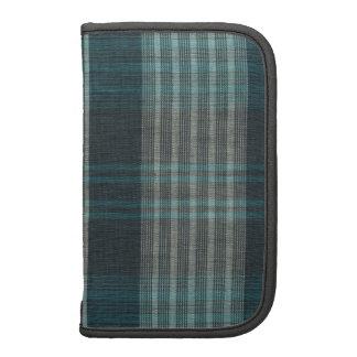 Planificador azul y gris de Smartphone del folio d