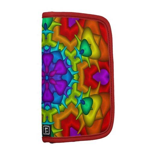 Planificador colorido del fractal de la fantasía