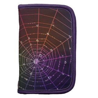 Planificador con la línea de la araña y descensos