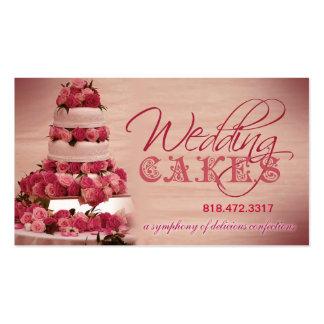 Planificador de eventos de los dulces de los paste plantilla de tarjeta de visita