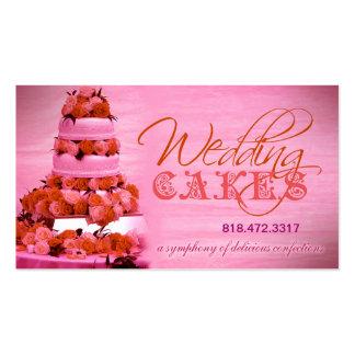Planificador de eventos de los dulces de los paste tarjeta de visita