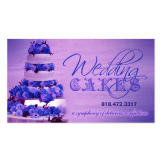 Planificador de eventos de los dulces de los paste tarjetas de negocios