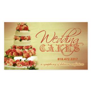 Planificador de eventos de los dulces de los paste tarjeta de negocio