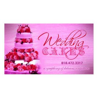 Planificador de eventos de los dulces de los paste tarjeta personal