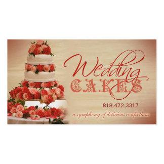 Planificador de eventos de los dulces de los paste tarjetas de visita