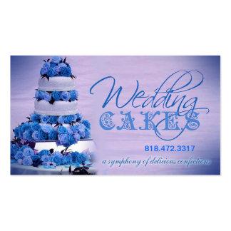 Planificador de eventos de los dulces de los tarjetas de visita