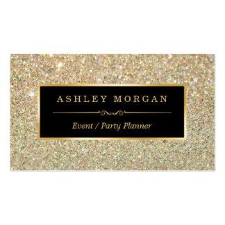 Planificador de eventos del boda - brillo tarjetas de visita