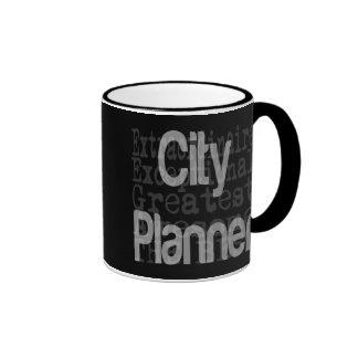 Planificador de la ciudad Extraordinaire Taza De Dos Colores