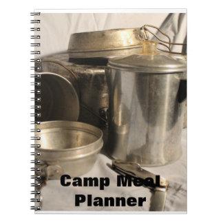 planificador de la comida libro de apuntes