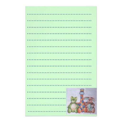planificador de la lista del bebé papeleria personalizada