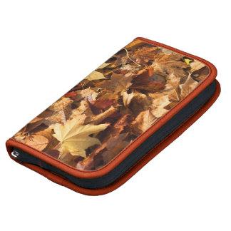 Planificador de las hojas de otoño