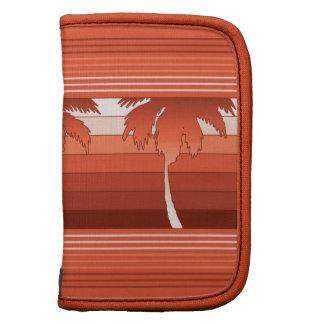 Planificador de las palmas de Hilo y folio