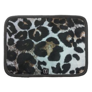 Planificador de moda del carrito del leopardo