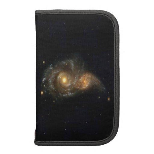 Planificador de Smartphone de dos galaxias que cho