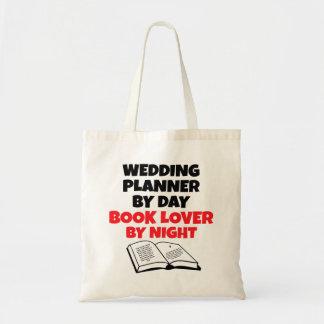 Planificador del boda del aficionado a los libros bolsa tela barata