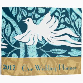 Planificador del boda del pájaro del amor de la