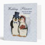 Planificador del boda del pingüino