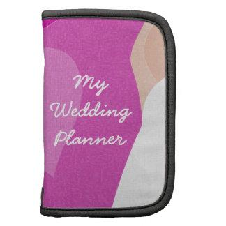 Planificador del boda del velo de la novia