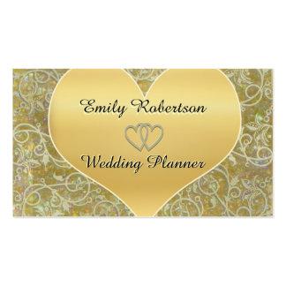 Planificador del boda, fotógrafo, etc. tarjetas de visita