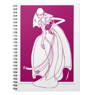Planificador del boda libros de apuntes
