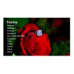 Planificador del boda plantillas de tarjetas de visita