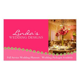 Planificador del boda - tarjeta de visita