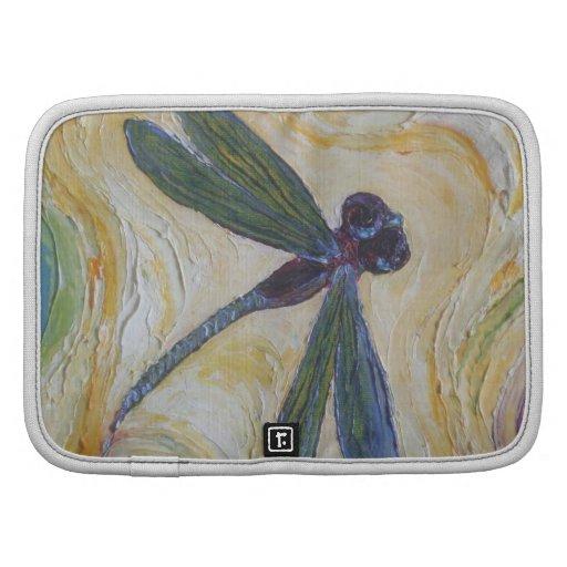 Planificador del folio del arte de la libélula